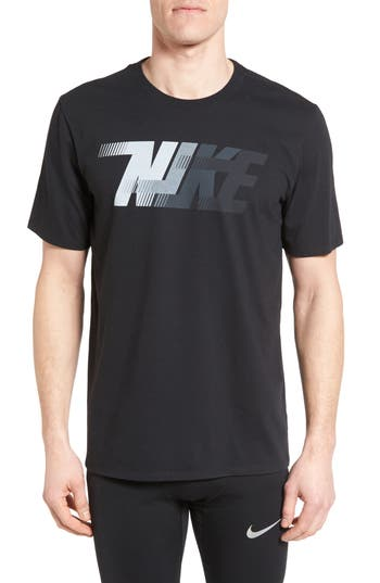 Nike Dri-Fit Training T-Shirt, Black