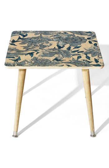 Deny Designs Summertime Indigo Side Table, Size One Size - Blue