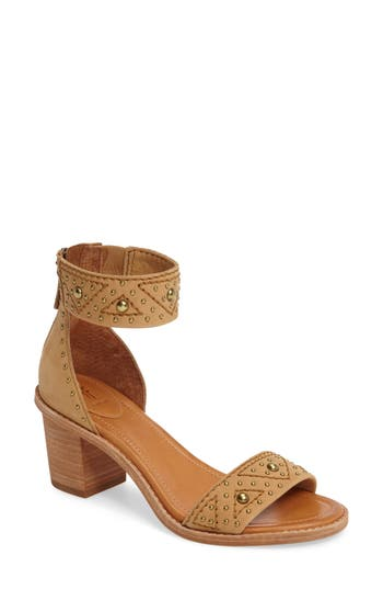 Frye Brielle Studded Sandal, Brown