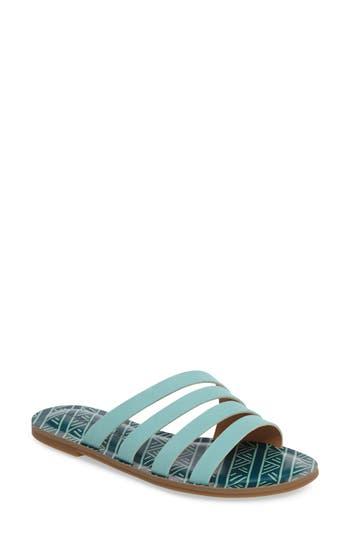 Lucky Brand Anika Slide Sandal, Blue