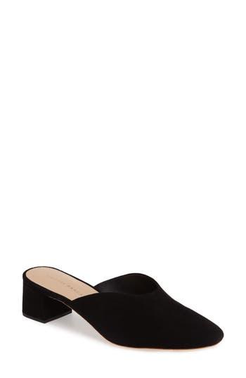 Women's Loeffler Randall Lulu Block Heel Mule, Size 6 M - Black