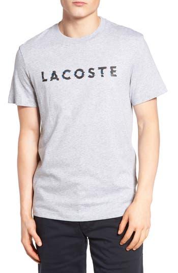 Lacoste 3D Logo Graphic T-Shirt, Grey