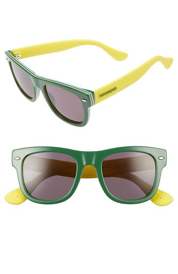 Havaianas Brasil 50Mm Square Sunglasses -