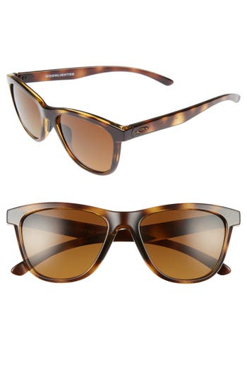 Oakley Moonlighter 5m Polarized Sunglasses - Tortoise/ Brown P