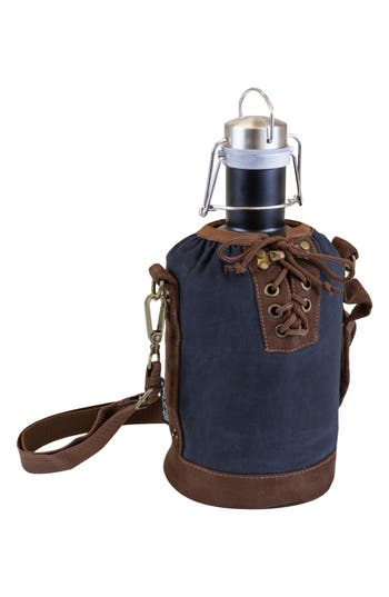 Picnic Time Growler & Tote, Size One Size - Blue
