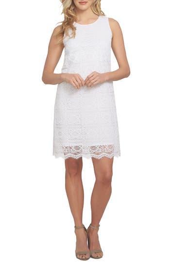Cece Arlington A-Line Dress, White