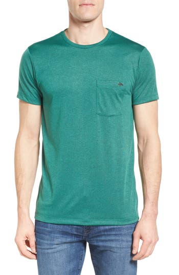 Men's Patagonia Flying Fish Responsibili-Tee Slim Fit T-Shirt, Size Small - Green