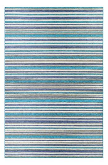 Couristan Brockton Indoor/outdoor Rug, ft 0in x 3ft 7in - Blue