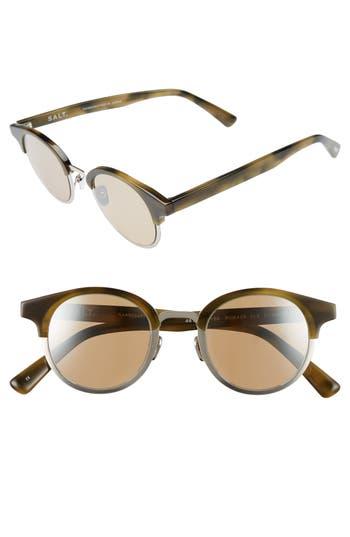 Women's Salt Rumack 46Mm Polarized Sunglasses - Olive