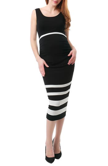 Kimi And Kai Miranda Colorblock Maternity Body-Con Dress