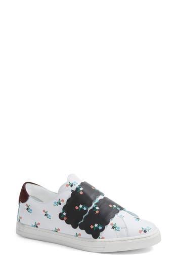 Fendi Scallop Sneaker - White