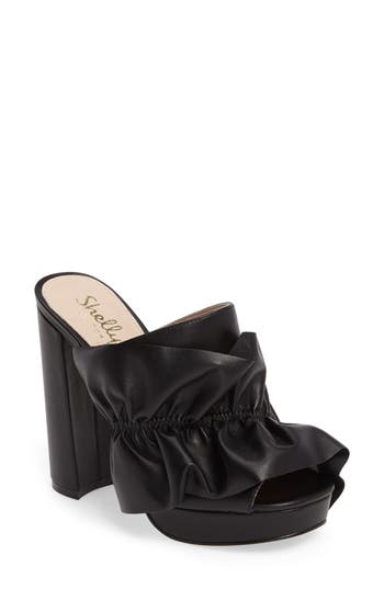 Shellys London Delphine Platform Mule