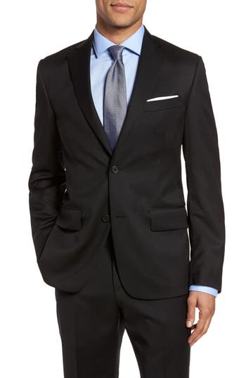 Nordstrom Classic Fit Solid Wool Sport Coat