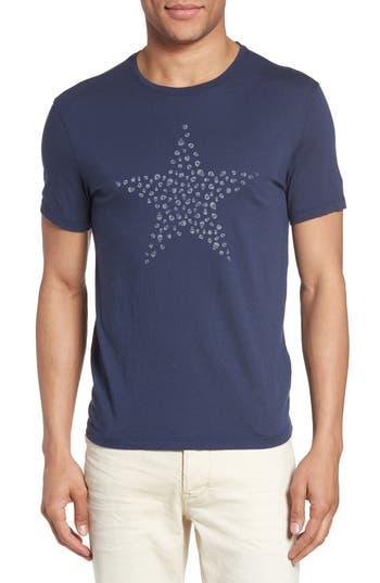 John Varvatos Star Usa Skulls Star Graphic T-Shirt, Blue