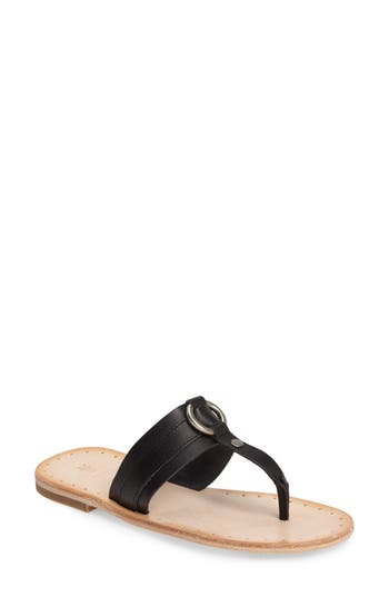Frye Avery Harness Sandal- Black