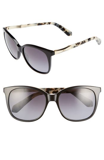 Women's Kate Spade New York Julieanna 54Mm Polarized Sunglasses -