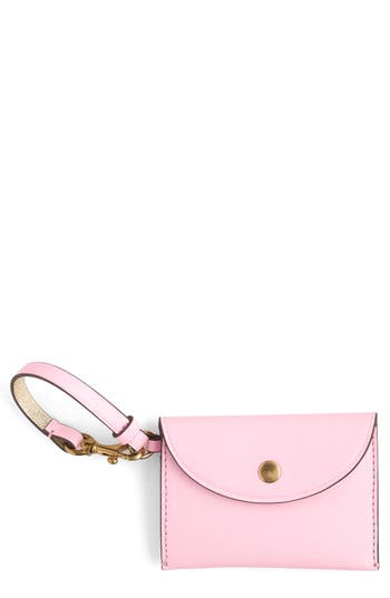 J.crew Leather Coin Purse - Pink
