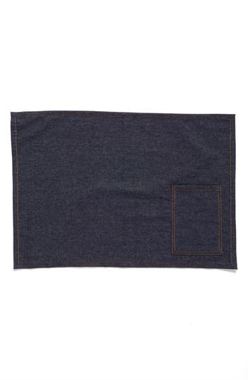 Nordstrom At Home Set Of 4 Denim Placemats
