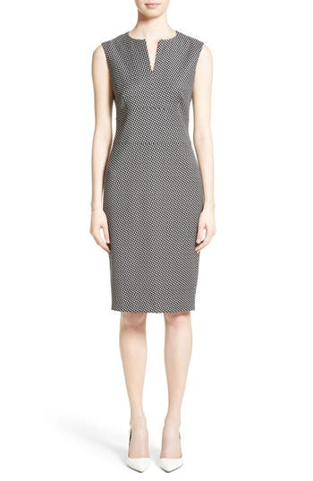 Max Mara Cerea Sheath Dress, Black