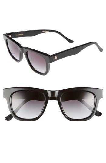 Women's Tom Wood James Sunglasses - Black
