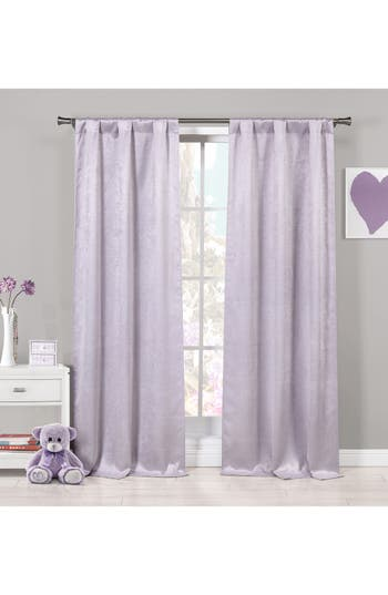 Lala + Bash Quincy Blackout Window Panels, Size One Size - Purple