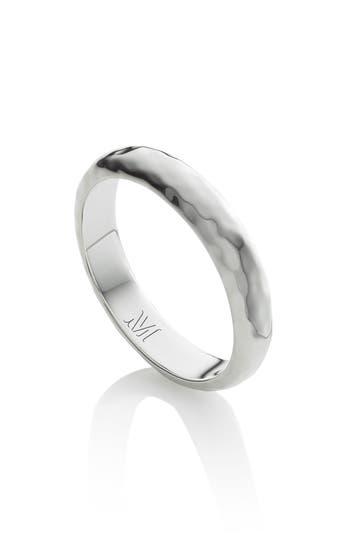 Monica Vinader Alta Hammered Ring