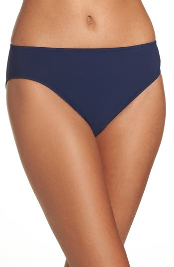 Profile By Gottex Hipster Bikini Bottoms, Blue