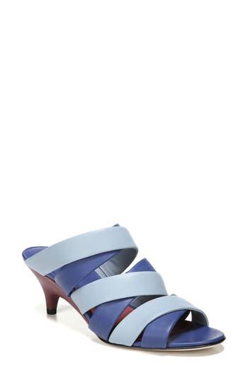 Diane Von Furstenberg Ghanzi Slide Sandal- Metallic