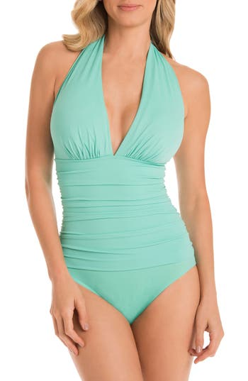 Magicsuit Claudia One-Piece Swimsuit, Blue