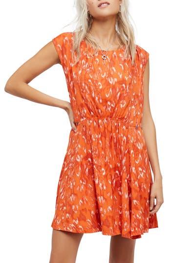 Free People Fake Love Minidress, Orange
