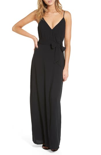 Paige Regina Maxi Dress, Black