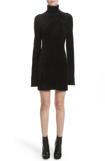 Women's Ellery Abigail Funnel Neck Dress, Size 6 US / 10 AU - Black