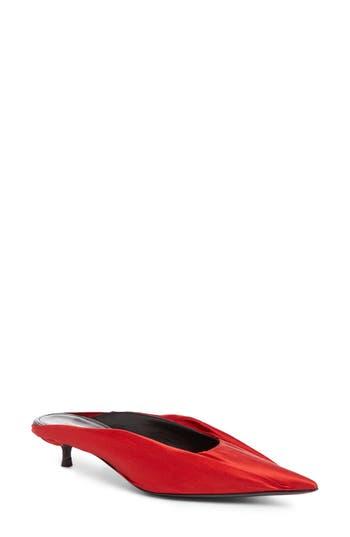 Balenciaga Skimmer Mule, Red