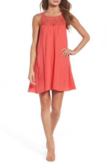 Bb Dakota Jesse Swing Dress, Coral
