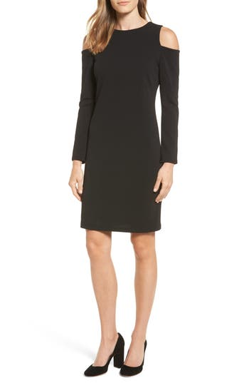 Halogen Knit Cold Shoulder Dress