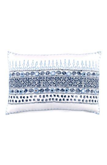 John Robshaw Primrose Accent Pillow, Size One Size - Blue
