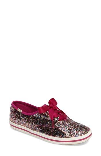 Keds For Kate Spade New York Glitter Sneaker, Pink