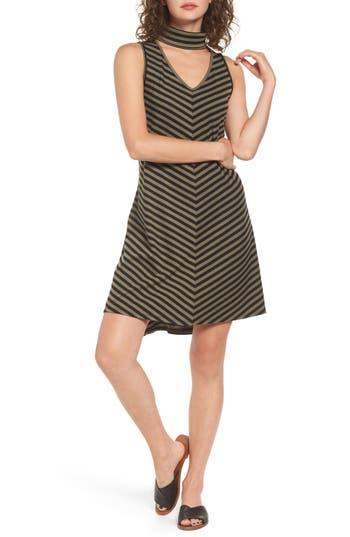 Love, Fire Gigi Rib Knit Dress, Black