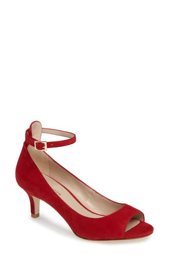 Pelle Moda Bey Open Toe Pump