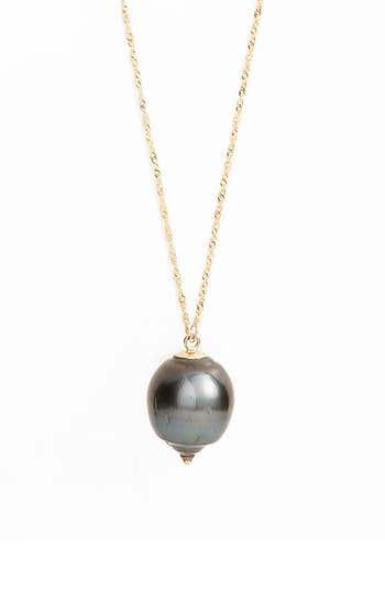 Women's Poppy Finch Long Pearl Pendant Necklace
