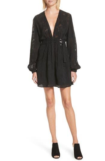 A.l.c. Jezebel Fil Coupe Dress, Black