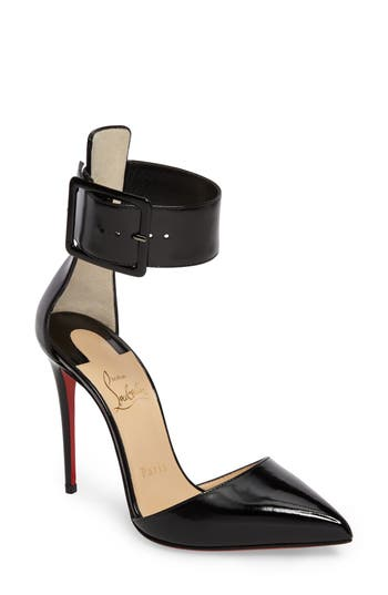 Christian Louboutin Harler Ankle Strap Pump