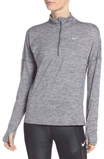 Nike Dry Element Half Zip Top, Grey