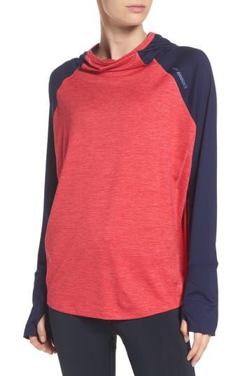 Brooks Dash Pullover Hoodie, Pink