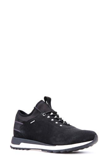 Geox Aneko Abx Waterproof Sneaker, Black