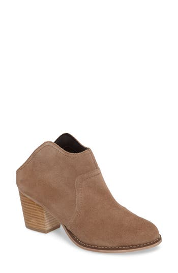 Sole Society Caribou Mule Bootie, Brown