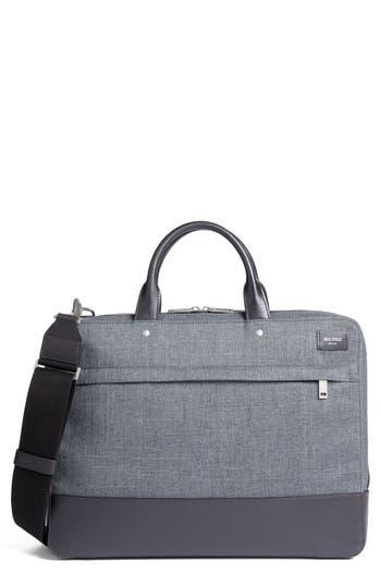 Jack Spade Tech Oxford Briefcase - Grey