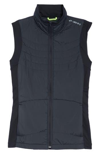 Brooks Cascadia Thermal Vest, Black