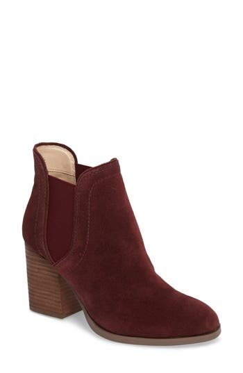 Sole Society Carrillo Bootie, Burgundy