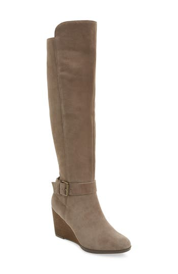 Sole Society Paloma Over The Knee Boot, Brown